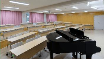 音楽室の写真
