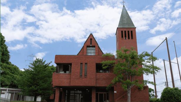 聖堂校舎の写真
