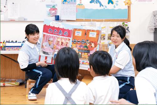 愛宕幼稚園補助研修生制度の様子