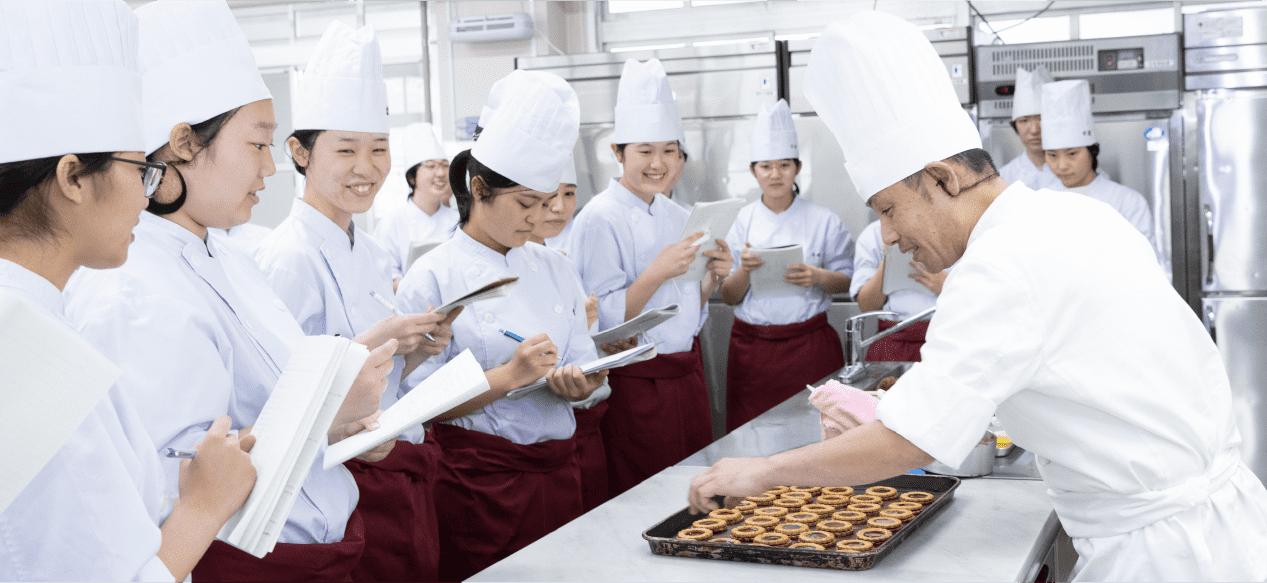 製菓コースの写真