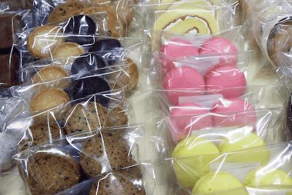 学外活動プチフルで制作したお菓子