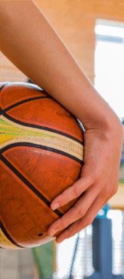 女子バスケット部の画像