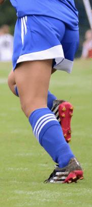 女子サッカー部の画像