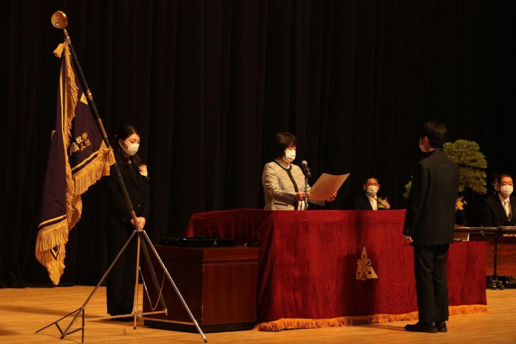 令和2年度卒業証書授与式のアイキャッチ画像